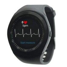 Smartwatch inteligentny zegarek tętna wodoodporny monitor aktywności fizycznej z przez cały dzień tętno monitorowanie snu wiadomość połączeń przypomnienie nadające się do noszenia na rękę