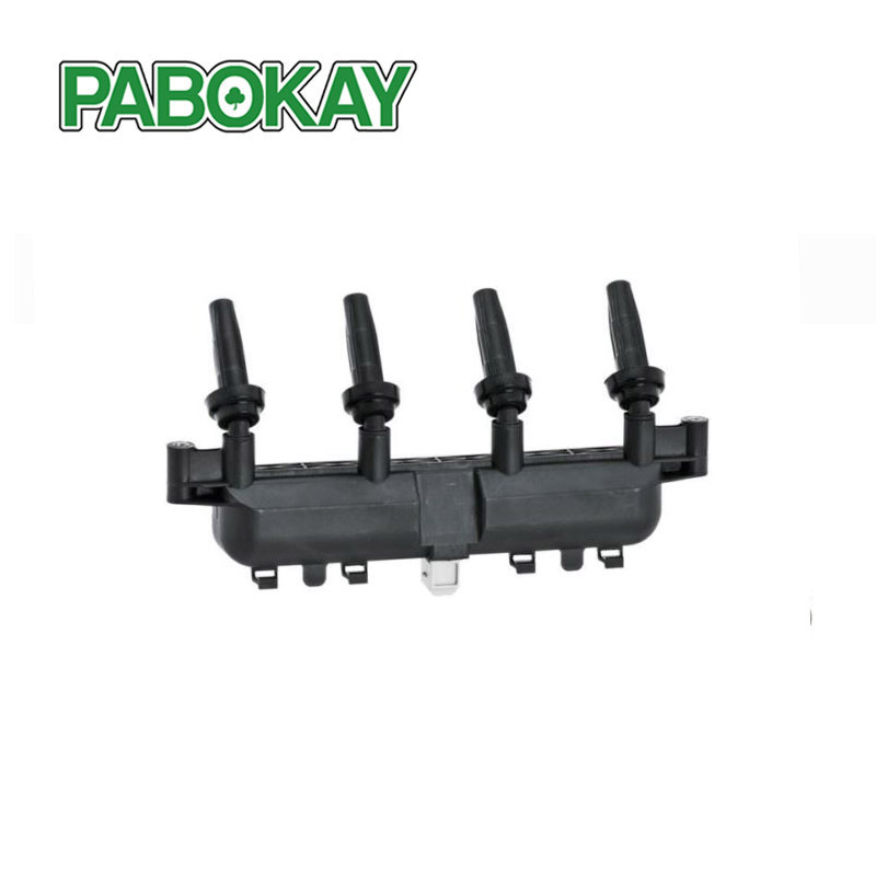 FOR PEUGEOT 206 1.1i / 1.4 / 1.4i / 1.6 CASSETTE IGNITION COIL PACK GREY PLUG 597079 96358648 / 96358649 / 9635864980 / CL111