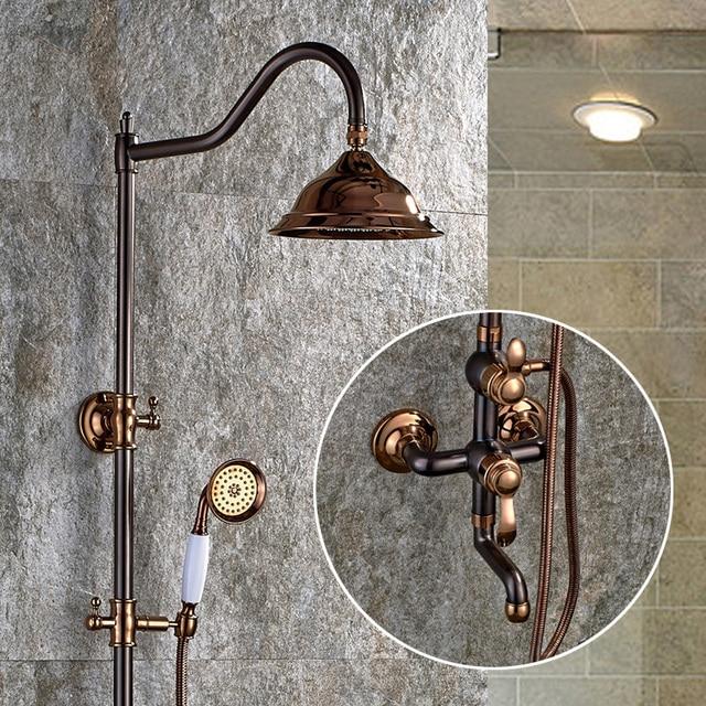 New Arrival Antique Bathroom Retro Shower Set Faucet With Shower ...