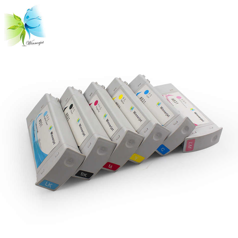 Third Party Brand] 7Pieces/Set For HP 831 Replacement Ink