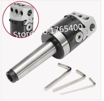 New MT4 M16 boring holder + Mirco Ajustable Boring Head F1-18 75mm (3) CNC milling latheNew MT4 M16 boring holder + Mirco Ajustable Boring Head F1-18 75mm (3) CNC milling lathe