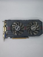 Used Original ASUS GTX650TI GPU Graphics Card 1GB GDDR5 128BIT VGA Card Gaming Stronger Than GT630