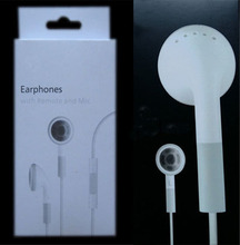 Best quality in ear noise canceling Earphone With Mic and voice control earbuds for Apple iPhone4