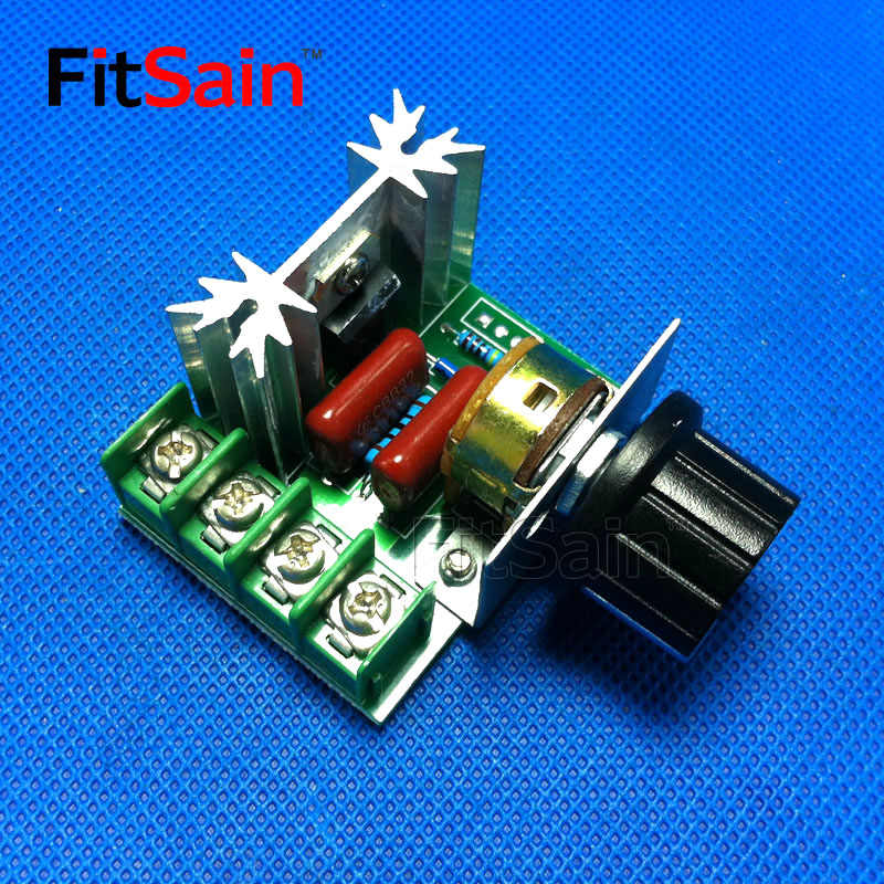 Detail Feedback Questions about FitSain AC220V 2000W SCR Voltage