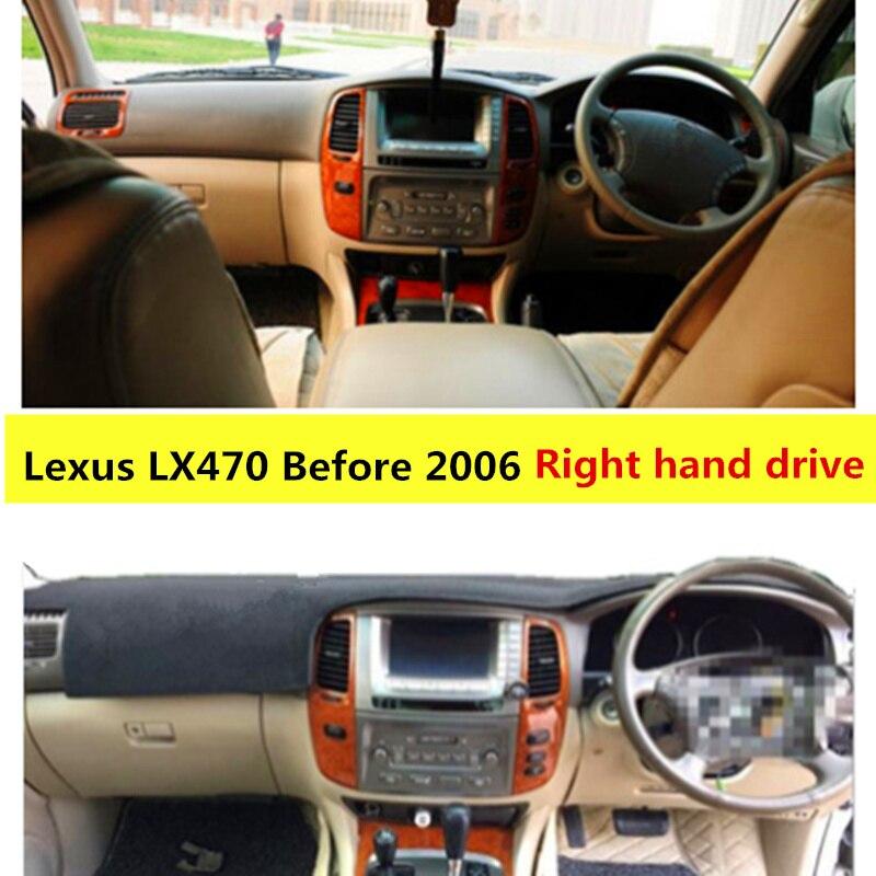 2006 Lexus Lx Interior: TAIJS Left Hand Drive Car Dashboard Cover For Lexus LX470