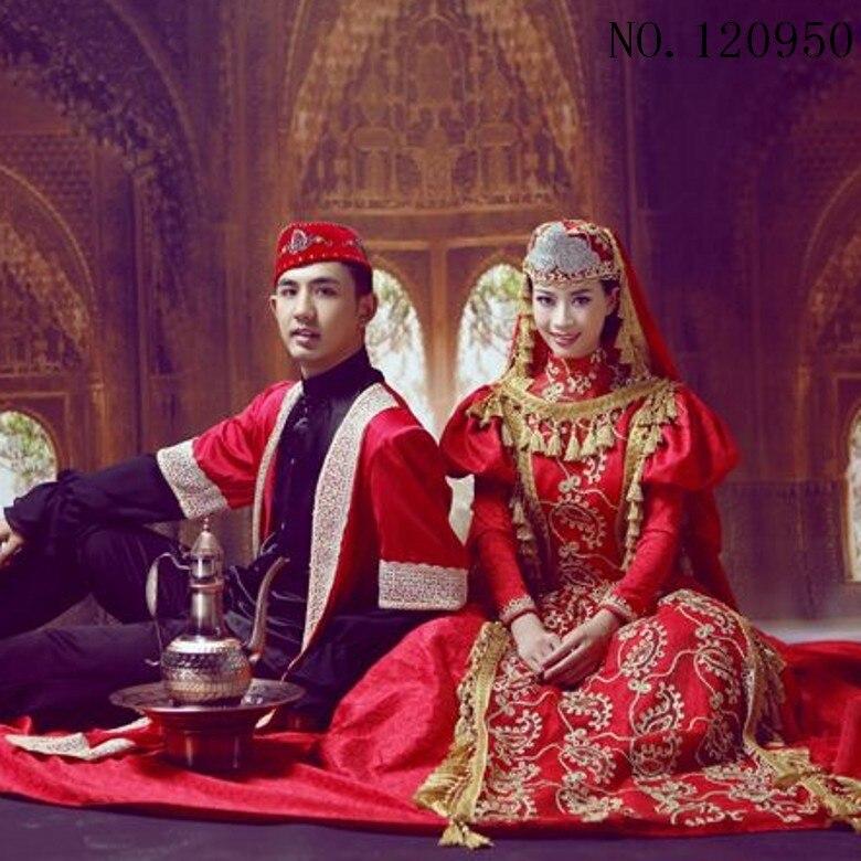 Fantastisch Islamische Ehe Kleid Bilder - Brautkleider Ideen ...