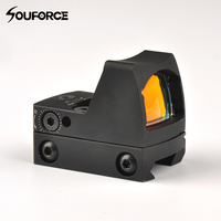 Rmr Reflex Verstelbare Red Dot Sight 3.25 Moa Holographic Sight Scope 20 Mm Weaver Rail Voor Airsoft Hunting Rifle