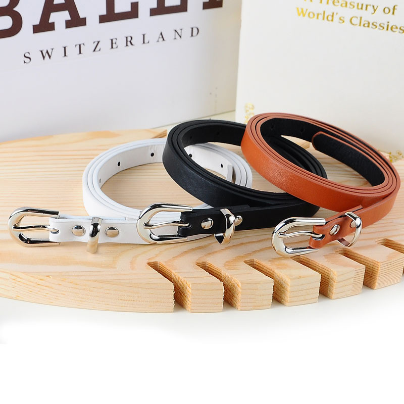 5 colors fashion female thin   belt   women 2019 high quality Strap women leather trouser children's   Belts   ladies On dresses