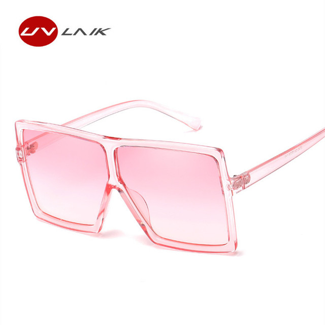 UVLAIK Oversized Sunglasses Women Large Size Sunglasses Men ...