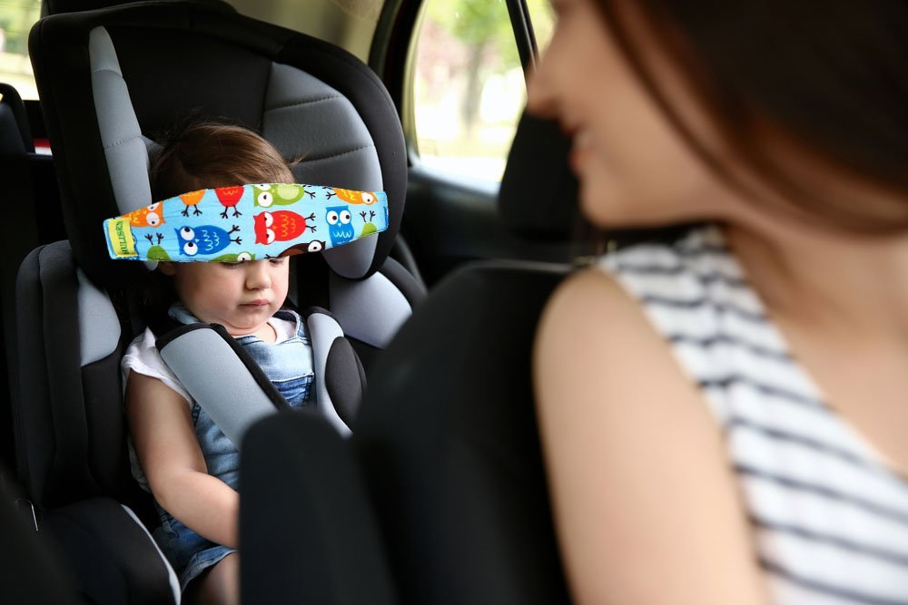 seat Belt Shoulder pad auto Child Toddler car Cover Back Support Neck Head