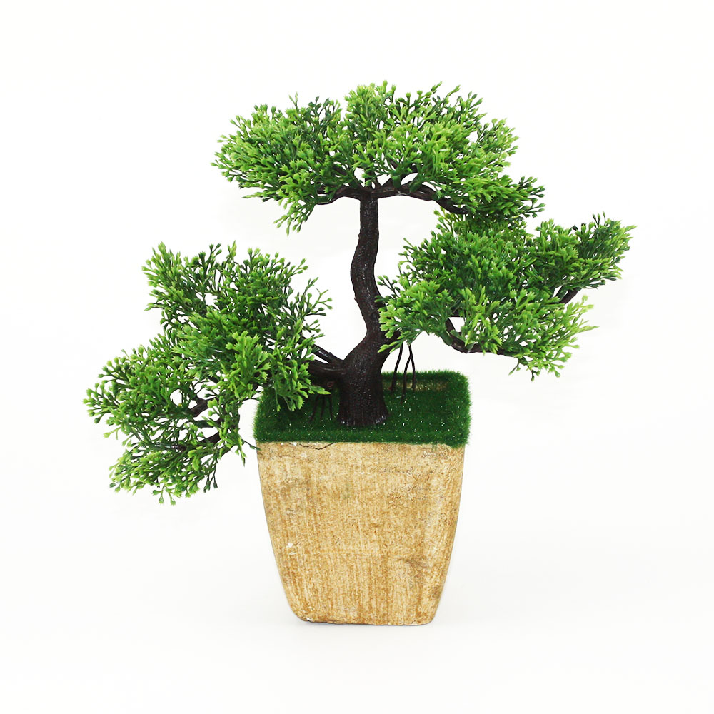 Welcoming Pine Artificial Plants Bonsai For Home