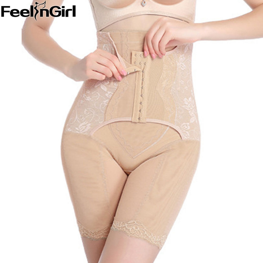0f9c021ab32 FeelinGirl Waist Trainer Tummy Control Panties Butt Lifter Body Shaper  Corsets Hip Enhancer Shapewear Underwear Panty Hooks B-in Control Panties  from ...