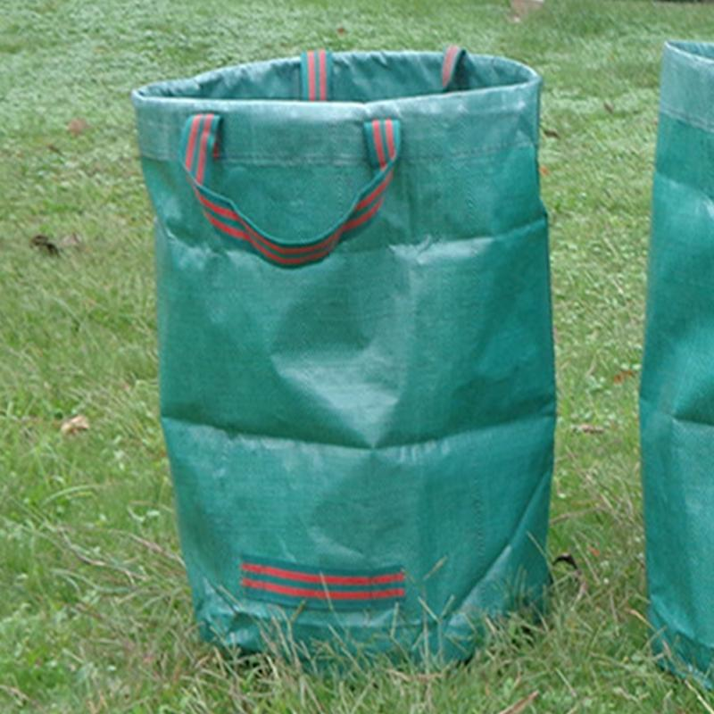 Portable Collapsible Pop Up Garden Leaf Trash Can Garbage