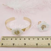 Fashion bracelet and ring set fashionable beautiful ladies ornaments jewelry