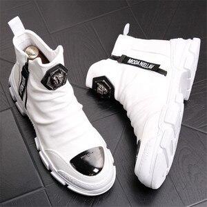 Image 1 - Yumuşak deri çizmeler erkek Trend 2020 kış sıcak kar botları su geçirmez erkek ayakkabısı X #15/10D50