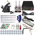 ITATOO Tattoo Kit Cheap Tattoo Machine Set a Pen Kit Tattooing Ink Machine Gun Supplies For Jewelry Weapon Professional TK108004