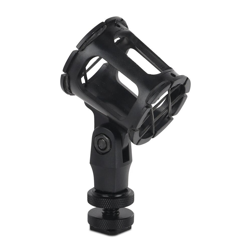 Wireless Universal Microphone Suspension Shock Mount Pencil Clamp Condenser Holder Stand Clip