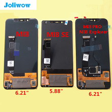AMOLED LCD For Xiaomi Mi8 SE MI8SE Mi 8 SE PRO Explorer Edition mi8 lite Youth LCD Display+Touch Screen Assembly Replacement все цены