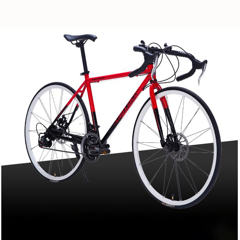 The New 21 Speed Road Cycling Speed Racing Students Men And Women Wheel Size Bicycle Accessories Road Bike