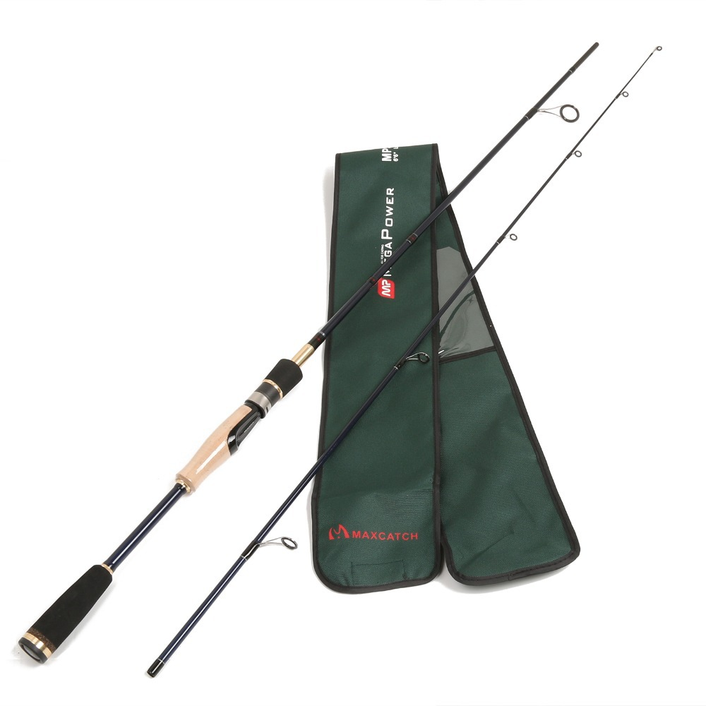Maximumcatch Quality MPS 702ML Spinning Fishing Rod 5-10LB Line Weight 100% Carbon Megapower Spinning Rod