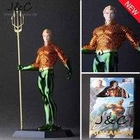 2016 New Juguetes DC Hero 25CM Arthur Joseph Curry Figure Aquaman Action Figure PVC Anime Model figure Toys kids toys