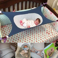 Folding Newborn Infant Bed Elastic Detachable Baby Cot Beds Portable Baby Crib Hammock Toddler Safe Photography