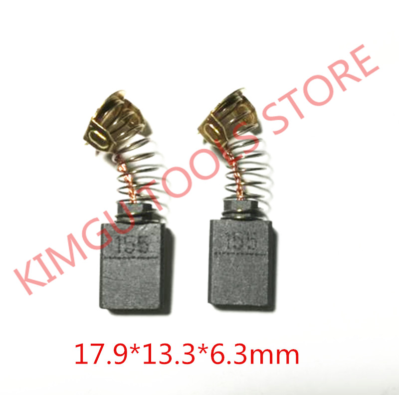 3 Pairs Carbon Brushes 181048-2 For MAKITA CB 155 CB-155 HM1200B HM1200 SR2600 SR2300 SR2100 HR3850B HM1400 HM1300 HM1242C