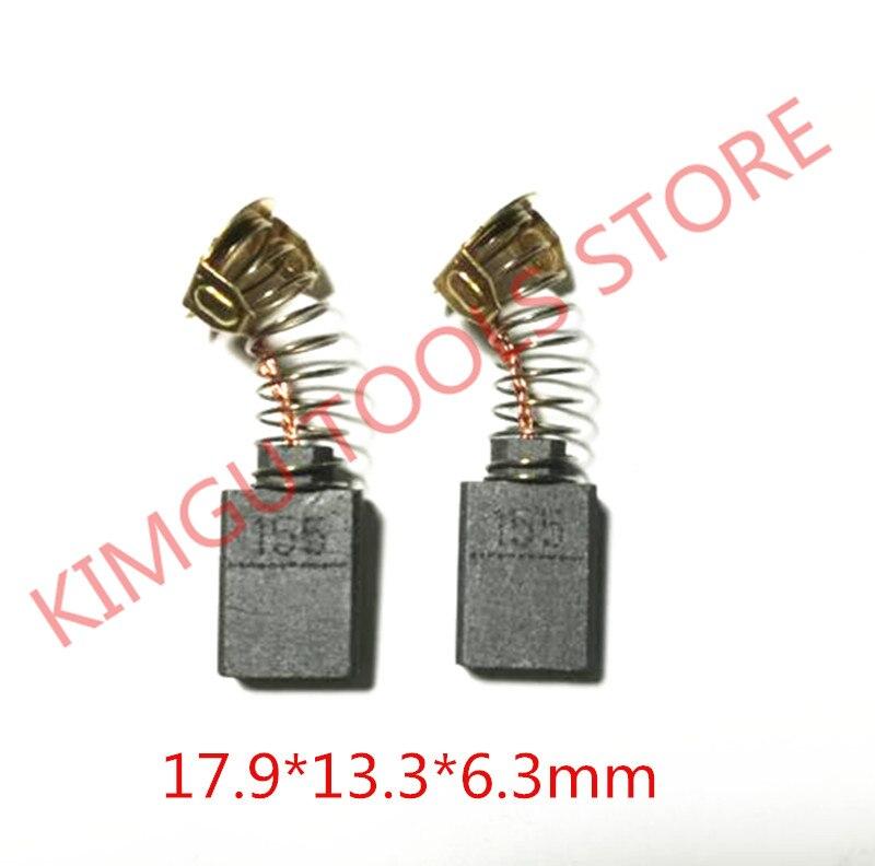 3 Pairs Carbon Brushes 181048-2 For MAKITA CB 155 CB-155 HM1200B HM1200 SR2600 SR2300 SR2100 HR3850B HM1400 HM1300 HM1242C