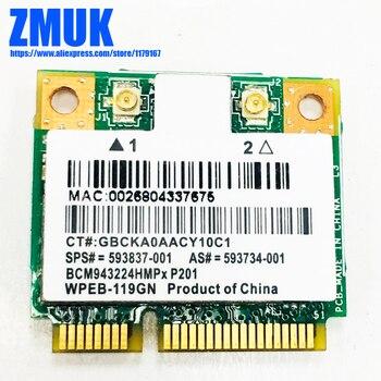 Nueva Mini tarjeta PCIe de tamaño medio 802 11N Wifi Bluetooth 3,0 Combo  Atheros AR5B195 para