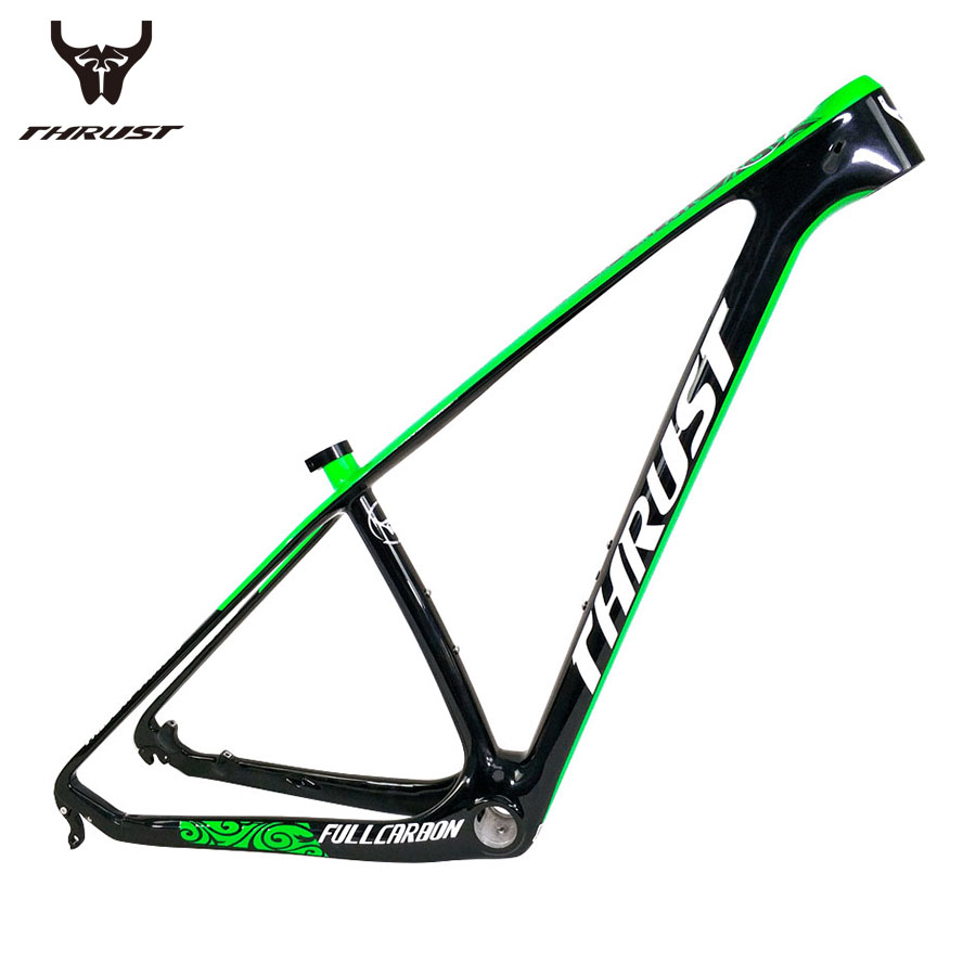 THUST Carbon mtb Frame 29er 2017 Carbon Mountain Bike Bicycle Frame 15 17 19 T1000 China