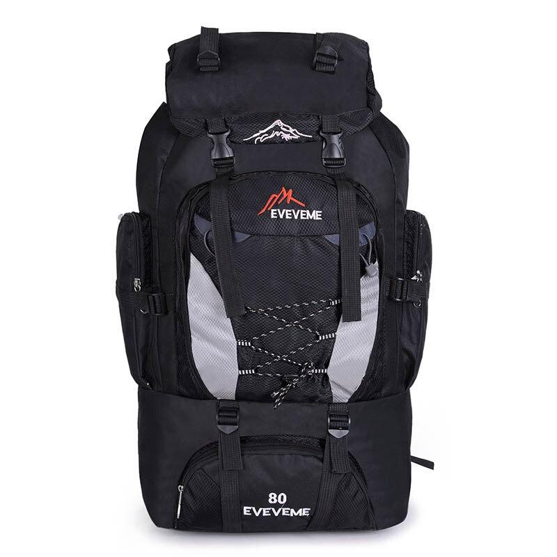 Backpacks 80L Camping Hiking Backpack Bag Outdoor Sports Bags Travel Waterproof Shoulder Men Climbing Fishing Rucksack XA535WA цена