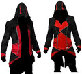 Assassins Creed Косплей Костюм Эцио Толстовки Костюм Новый Kenway куртка мужская аниме косплей Женщины Хэллоуин костюмы