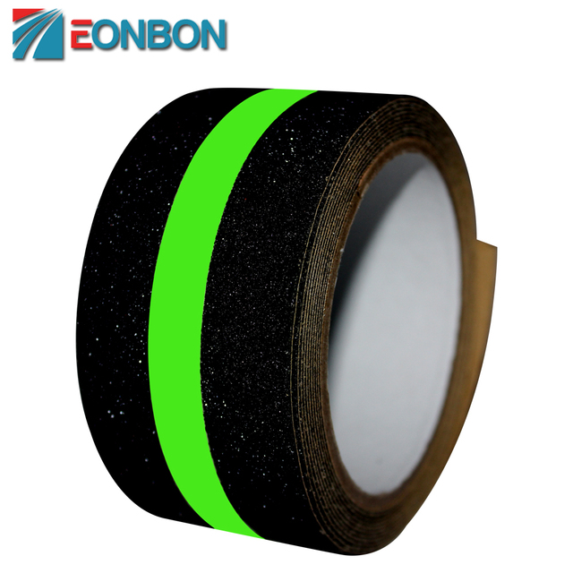 EONBON 5CM X 4.5M Glow In The Dark Strip Luminous Anti Slip Tape For Safety Walking