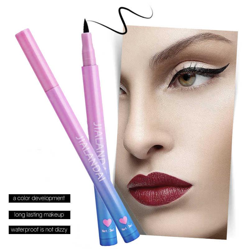 Eye Makeup Waterproof Liquid Eyeliner Pen Make Up Comestics Long-lasting Black Eye Liner Pencil Makeup Tools 3.0Ml For Women