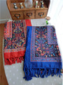 National style retro paisley fringed shawl spring and summer cotton oversized scarf air conditioning scarves