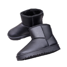 High Quality Footwear Fashion Women Boot Flat Ankle Fur Lined Winter Warm Snow Shoes cotton Shoes casual New Style Hot Selling