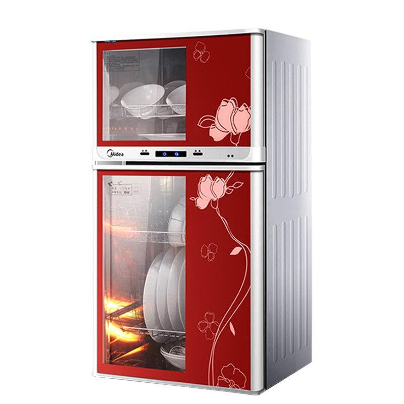 77L grand Vertical ménage électrique vaisselle cabinet De Désinfection stérilisateur machine commerciale mini double porte placard