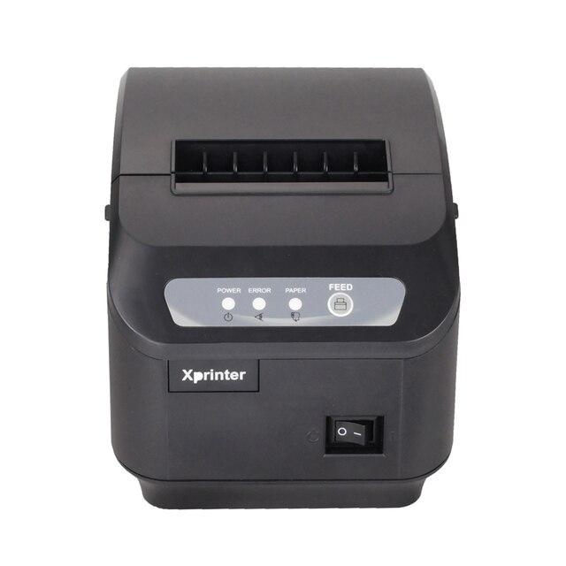 Pos принтер Высокое качество 80 мм тепловая чековый принтер XP-200II автоматической резки машина скорость печати LAN интерфейс 200 мм/сек.