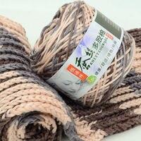 600g Lot Multi Strand Scarf Thread Woven Scarves Thick Wool Valentine Milk Cotton Men Women Woven