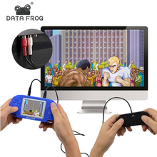 Two Players Video Game Consoles For Kids Handheld Game Player TV Output Support Double Battle With Gamepad
