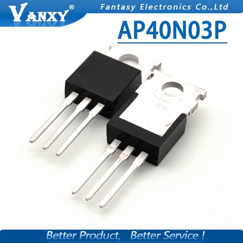 10pcs AP40N03GP TO-220 40N03P AP40N03P 40N03GP TO220
