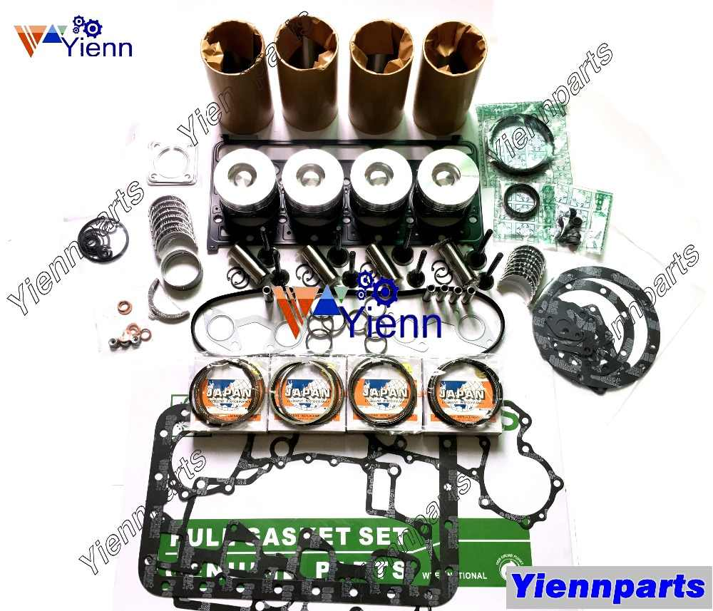 hight resolution of kubota v2403 v2403 mdi overhual rebuild parts piston piston ring cylinder liner