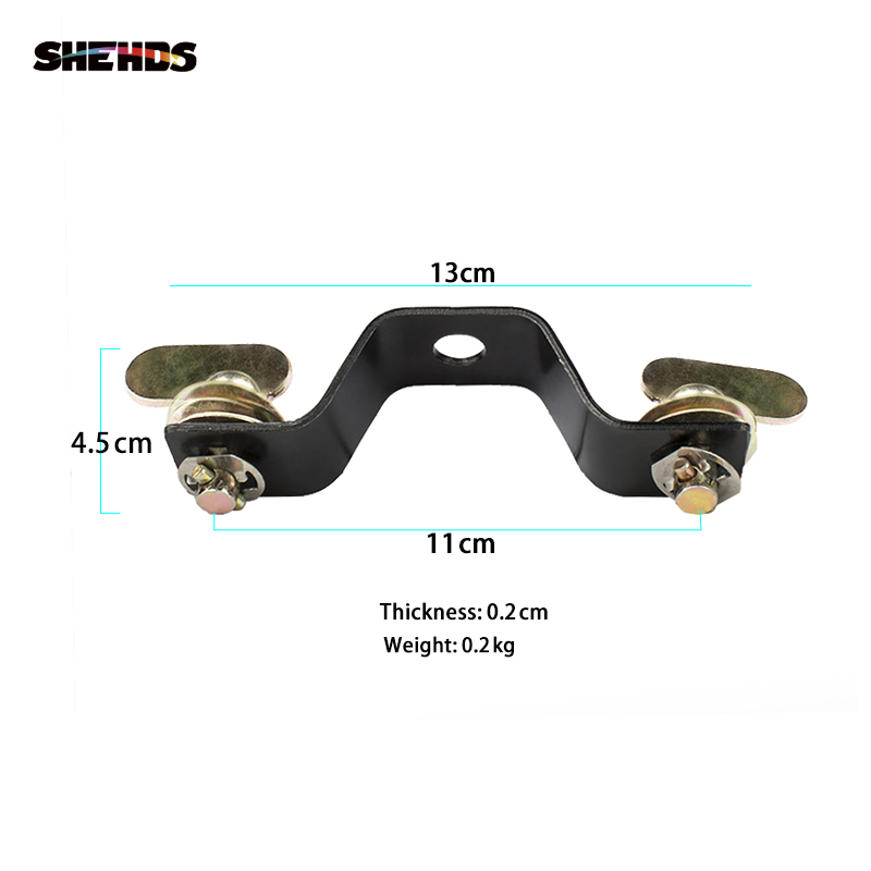 SHEHDS Aluminum Base Plate With Quick Lock For 230W 7R Lighting Professional Stage Led Stage Lights Dj Club Light Hanging Hook