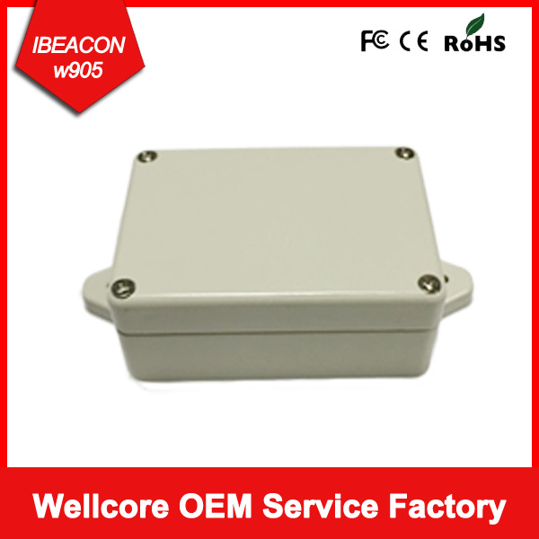 """2017 Naujausi """"Ibeacon"""" su akcelerometru ir temperatūros jutikliu, Ibeacon nRF51822, """"Ibeacon"""" su CE FCC ROHS sertifikuota"""