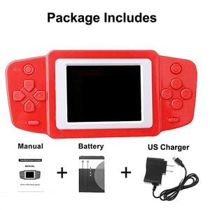 Image 5 - Consola de videojuegos Retro para niños, 268 juegos clásicos, el mejor regalo para niños, rompecabezas