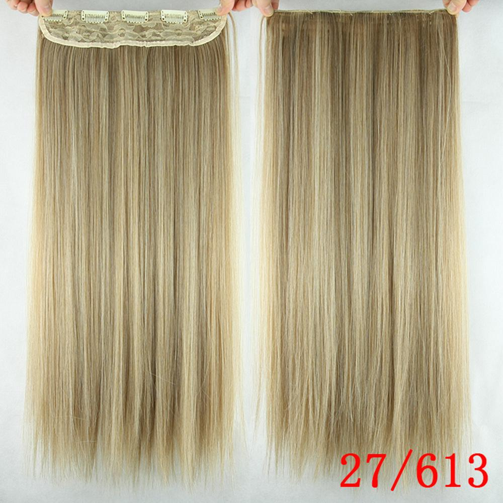 10 colors 60cm long clip in hair extensions 5 clips straight heat 10 colors 60cm long clip in hair extensions 5 clips straight heat resistant synthetic hair piece natural hair extension on aliexpress alibaba group pmusecretfo Images