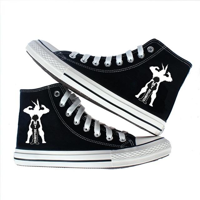 My Hero Academia Canvas Shoes