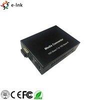 Network System Connection 10G Base T To 10G Base R RJ45 To Ethernet Fiber Media Converter