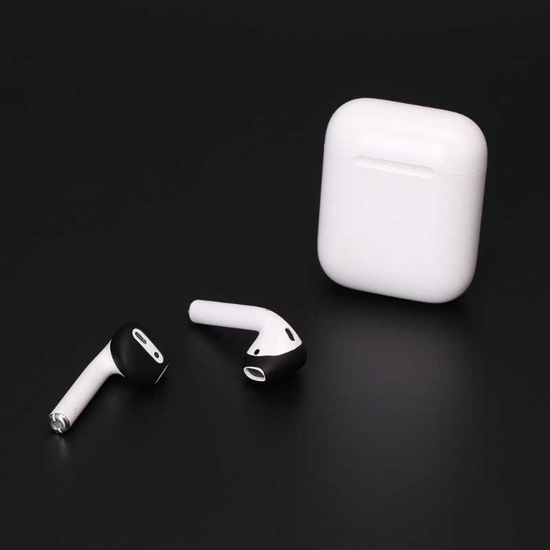 1de62fe6c24 ... OOTDTY 2 Pairs Super Thin Silicone Eartips Earbuds Cover Upgraded For Apple  Airpods iPhone 8 7 ...