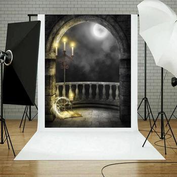 1 pc Halloween Decoração Foto Cenários de Fotografia de Pano de Fundo Pano de Fundo para Estúdio Vedio Tiro Prop